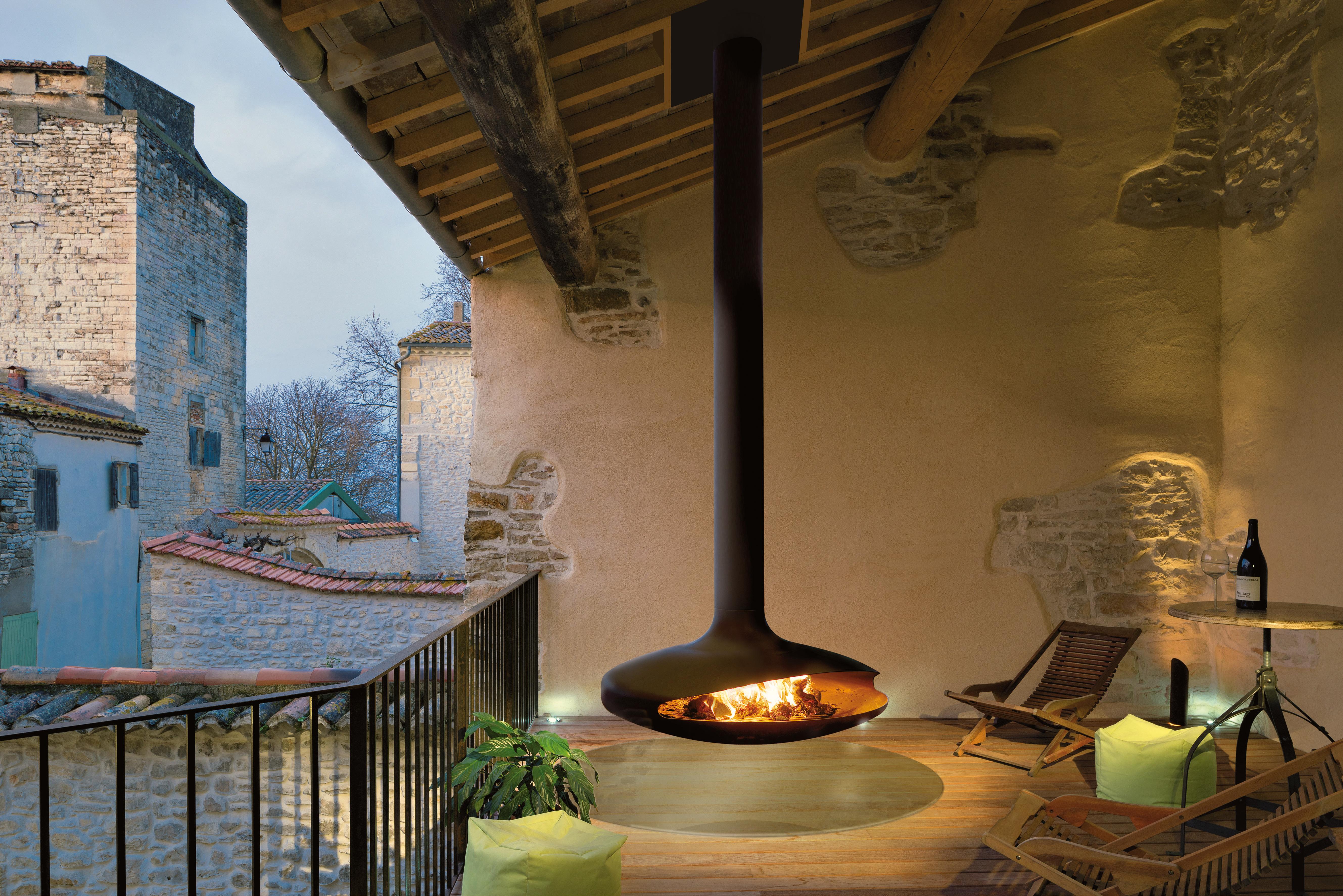 cheminée design pour l'extérieur Gyrofocus outdoor