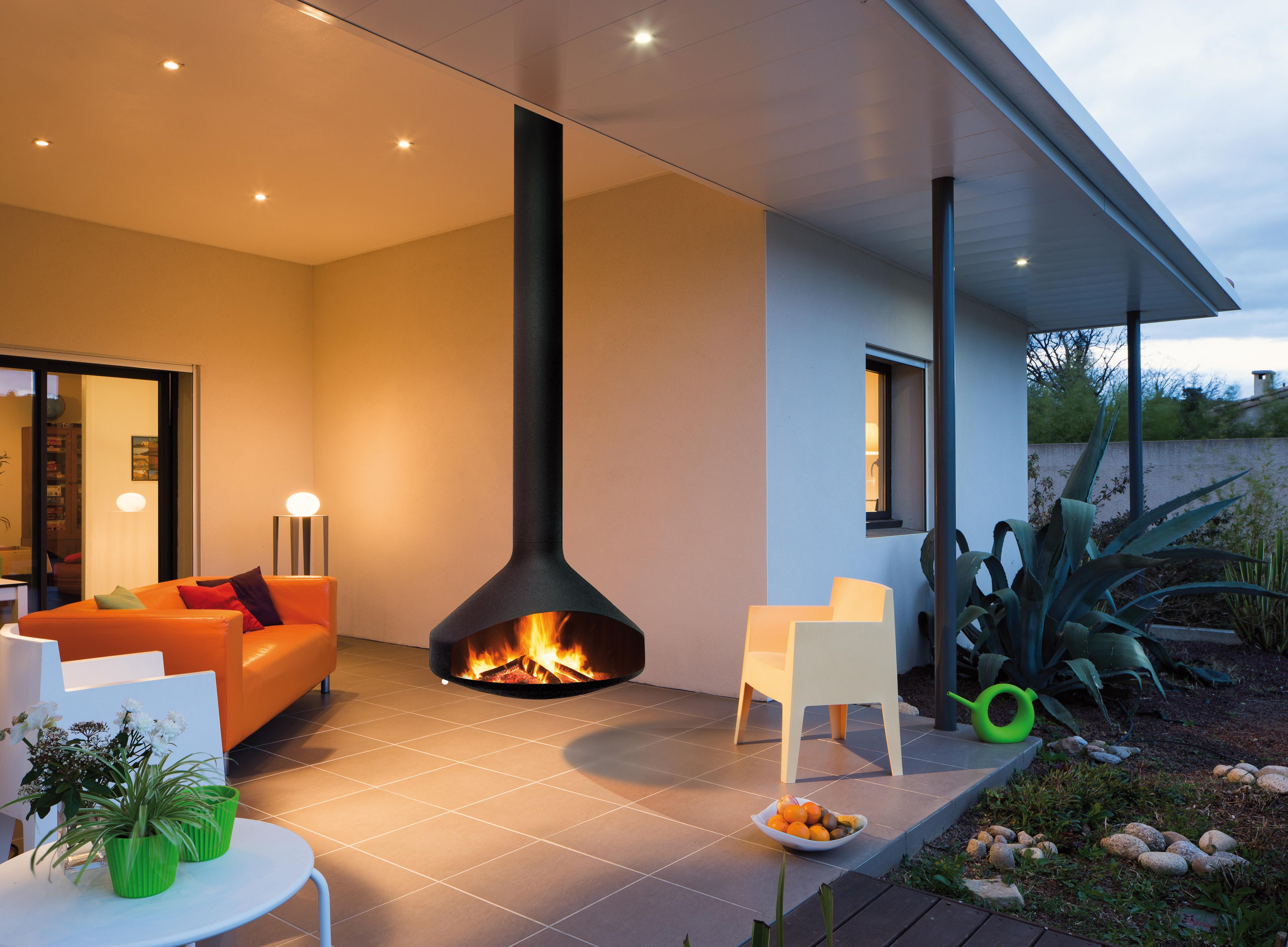 cheminée design pour l'extérieur Ergofocus outdoor