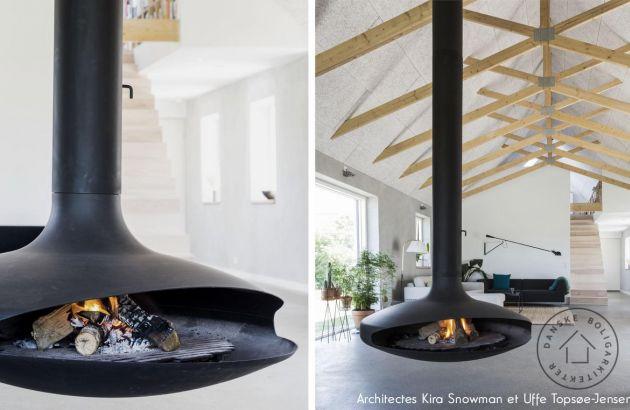 cheminée design centrale Gyrofocus