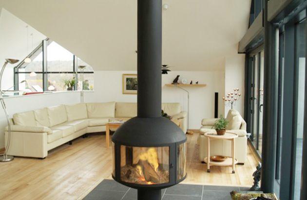 cheminée design AGORAFOCUS 850 sur pied