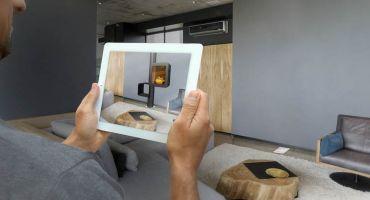application réalité augmentée cheminées contemporaines focus